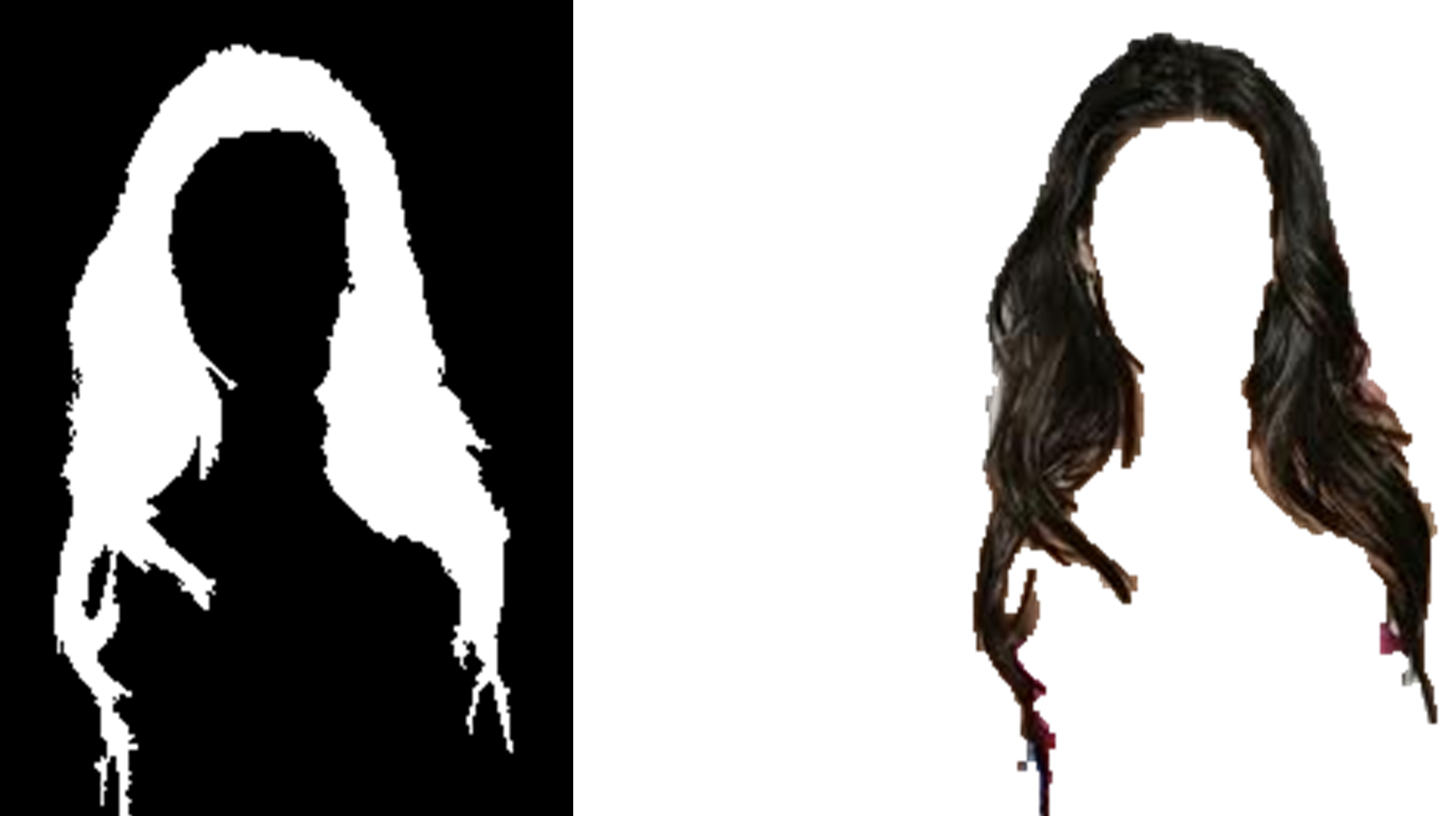 Hair segmentation