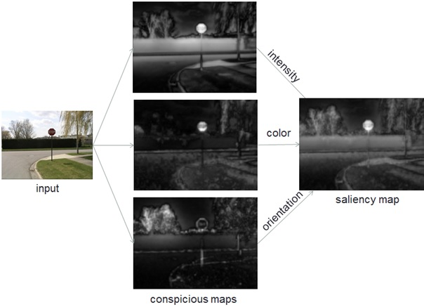 Saliency map – Vision & Graphics Group