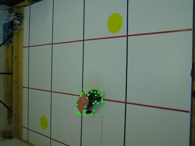 Tracking moving object