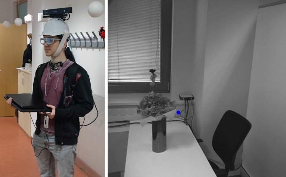 Egocentric RGB-D dataset (eye-tracker + Kinect v2)