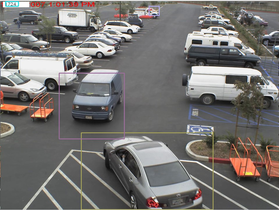 Free parking spots detection